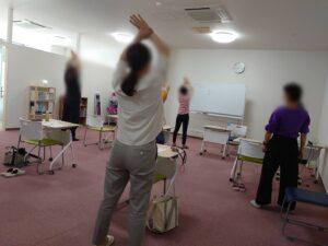 姿勢矯正のプログラム